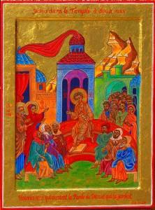 Jésus dans le Temple à douze ans
